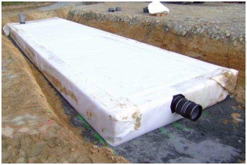 Bache retention d eau bande transporteuse caoutchouc for Bache pour bassin de retention