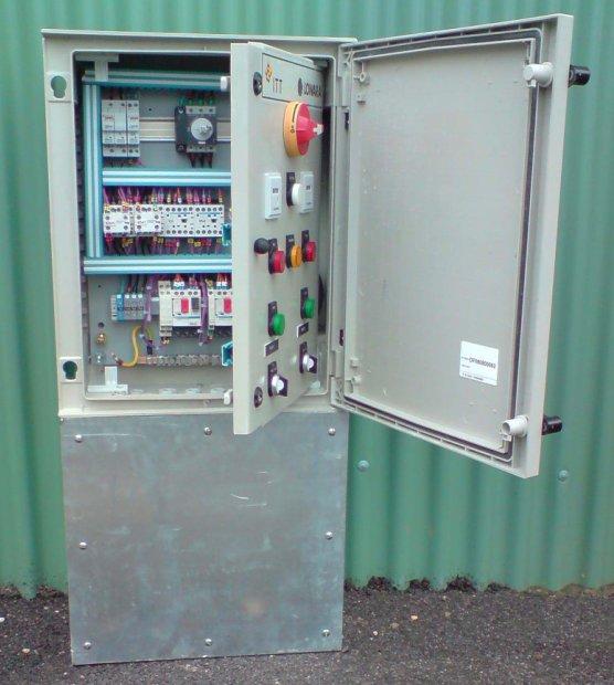 Electricit et automatisme pour station puration et poste relevage for Poste de relevage